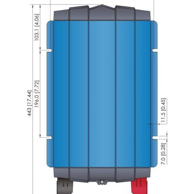 CGP Series 2 KW Pure Sinewave COTS Inverters