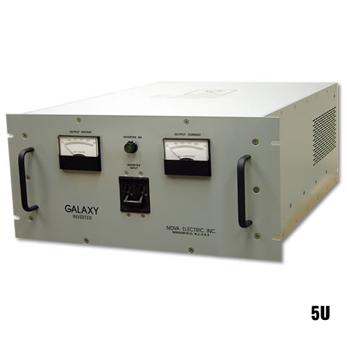 Galaxy Series 500 W - 6 KW Rack Mount Transformer Isolated Solid-State Frequency Converters