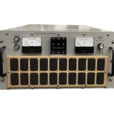 GLFC Series 1.5-4.5 KVA Rack Mount Solid-State Three Phase Frequency Converters