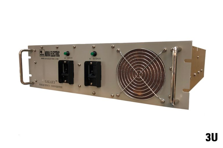 Ultra Lightweight Galaxy Series 0.9 - 5 KVA Solid-State Rack Mount Frequency Converters
