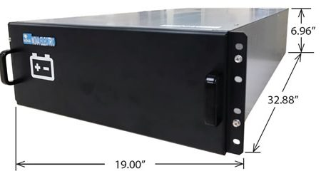 NEHRL11 Series 15 KVA / 15 KW True Online COTS UPS