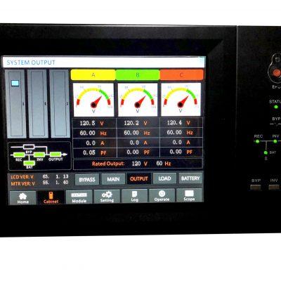 NERM Series 20-100 KVA Three-Phase Modular / Redundant True Online UPS Systems
